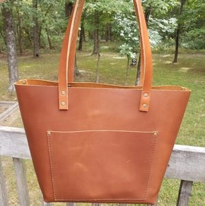 NEW Portland Leather Goods Large Tote